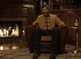 Nick Offerman's 'Yule Log' Is Better Than Having A Real Fireplace