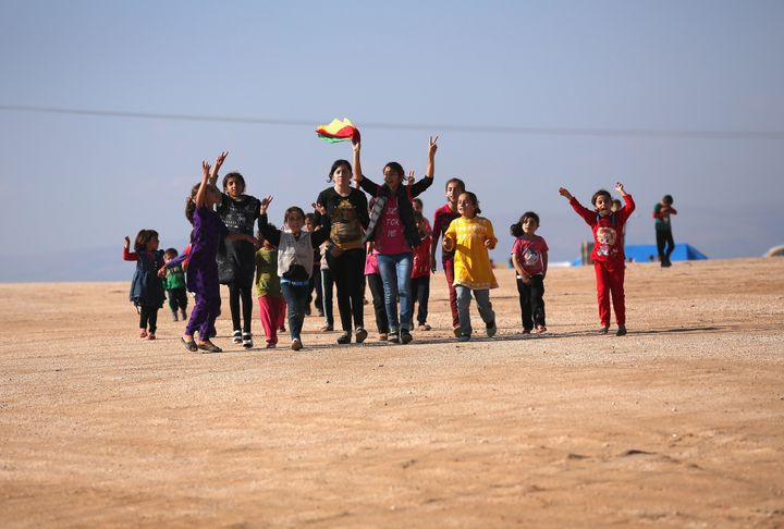 In November, Kurdish fighters recaptured Sinjar, Iraq, the homeland of members of the Yazidi religious minority.