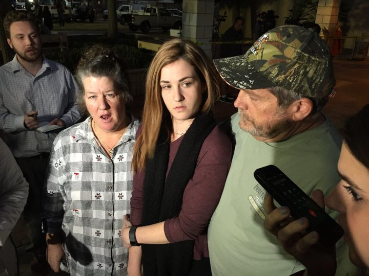 """""""I didn't see anything, I didn't even hear anything - it all seemed like a drill,"""" survivor Megan Schive said Wednesday."""