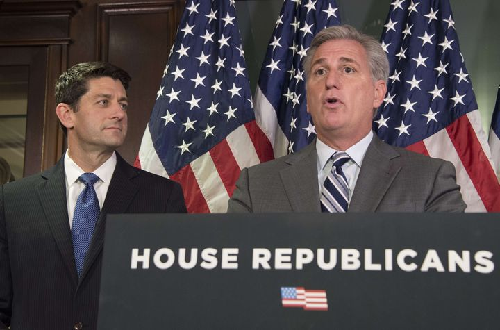 House Majority Leader Kevin McCarthy said he believes the White House will support a new bill to restrict part of the visa wa