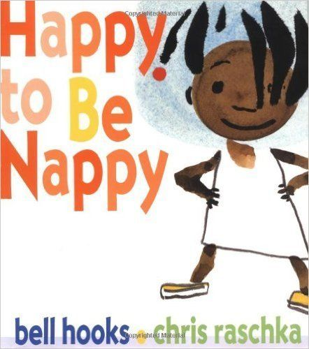 "This children's book celebrates the beauty of black hair! <br><br>Buy it&nbsp;<a href=""http://www.amazon.com/Happy-Be-Nappy-J"