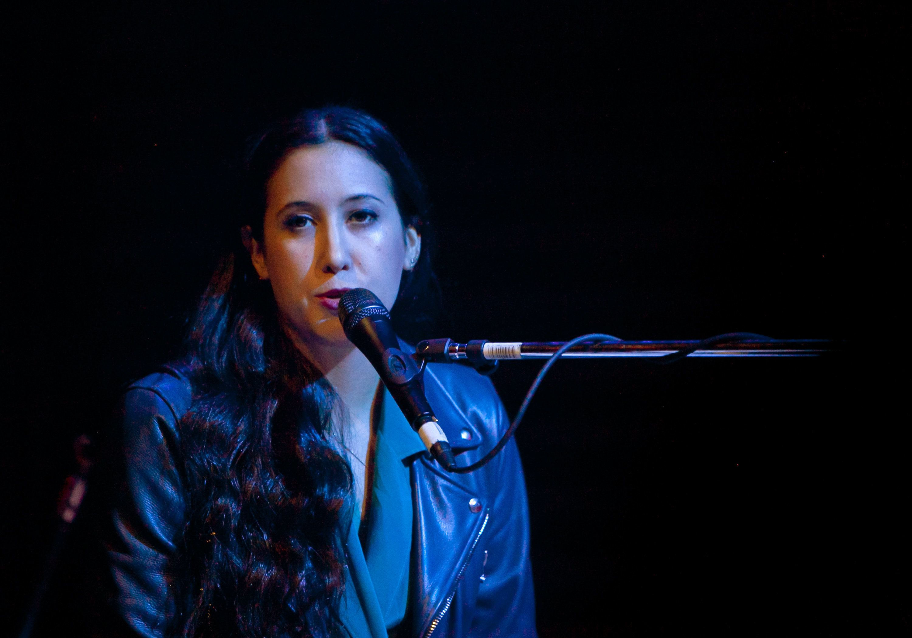 HOLLYWOOD, CA - SEPTEMBER 15:  Vanessa Carlton performs at The Sayers Club on September 15, 2015 in Hollywood, California.  (Photo by Tibrina Hobson/WireImage)