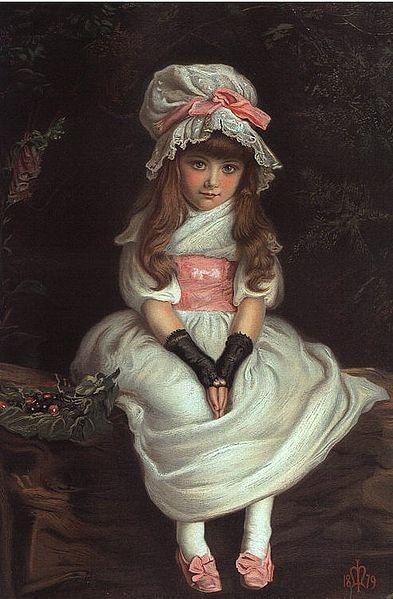 John Everett Millais, Cherry Ripe, 1879