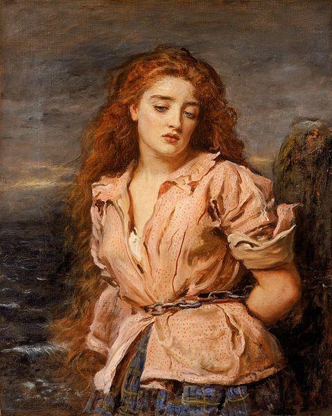 John Everett Millais,The Martyr of the Solway, 1871