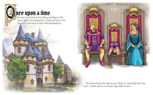 王子様がお姫様に。トランスジェンダーの絵本「本当の自分を受け入れて」