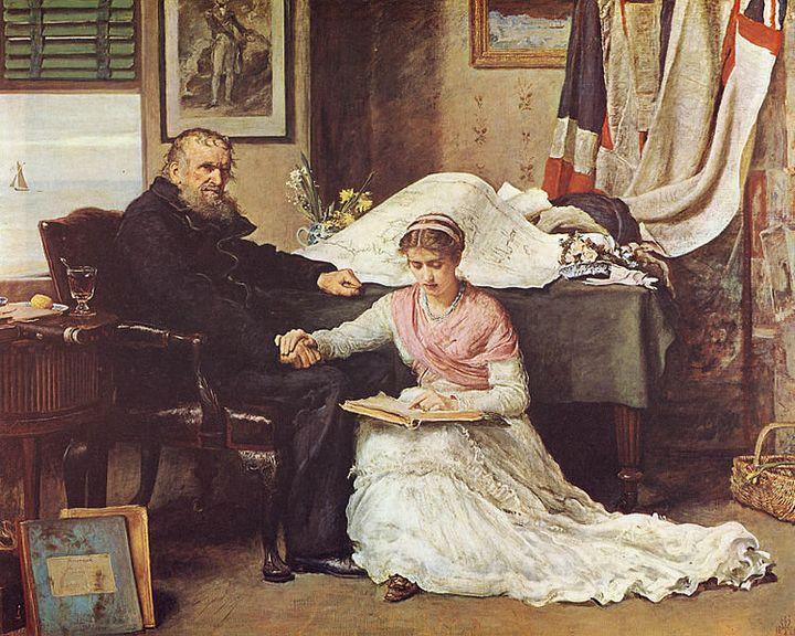 John Everett Millais, The North-West Passage, 1874
