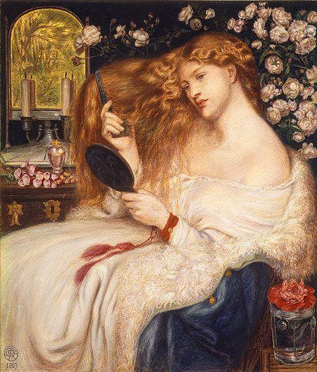 Dante Gabriel Rossetti, Lady Lilith, 1867