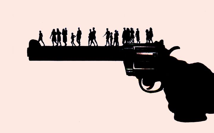 Researchers at Arizona State University found that mass shootings were significantly more likely to occur if another sho