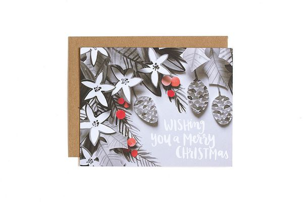 """$4.50 on <a href=""""http://1canoe2.com/collections/cards-holidays/products/christmas-wishes"""" target=""""_blank"""">One Canoe Two</a>"""