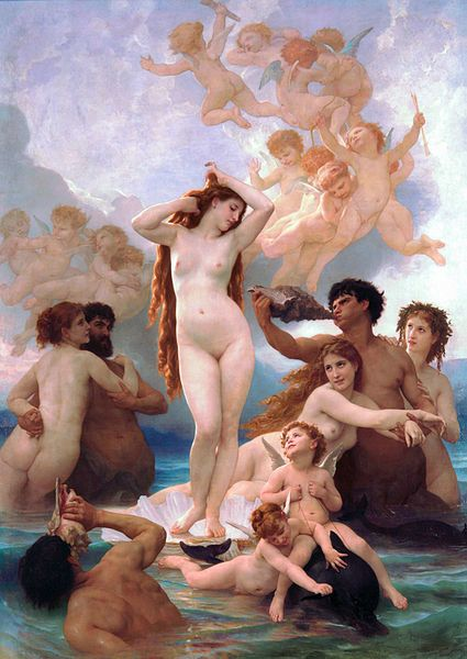 William-Adolphe Bouguereau, The Birth of Venus, 1879