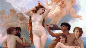 William-Adolphe Bouguereau, The Birth of Venus, 1879