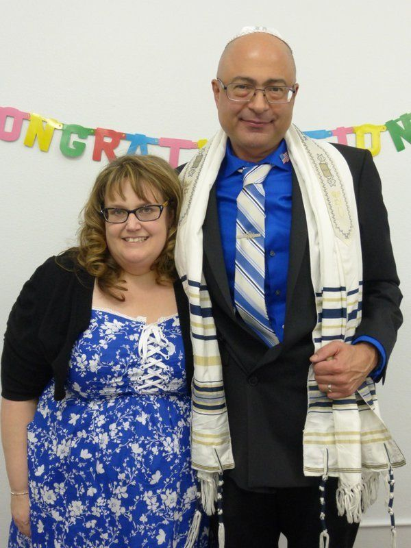 Nicholas Thalasinos, 52, pictured here with his wife, Jennifer, was a health inspector who moved to California from New Jerse