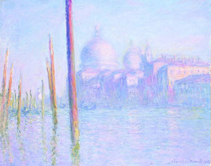 Claude Monet, Grand Canal Venice, 1908