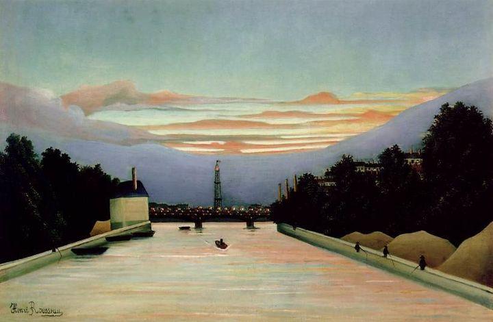 Henri Rousseau, La tour Eiffel, 1898