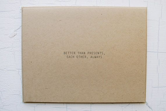 """$6 on <a href=""""https://www.etsy.com/listing/255923091/better-than-presents-holiday-card"""" target=""""_blank"""">Etsy</a>"""