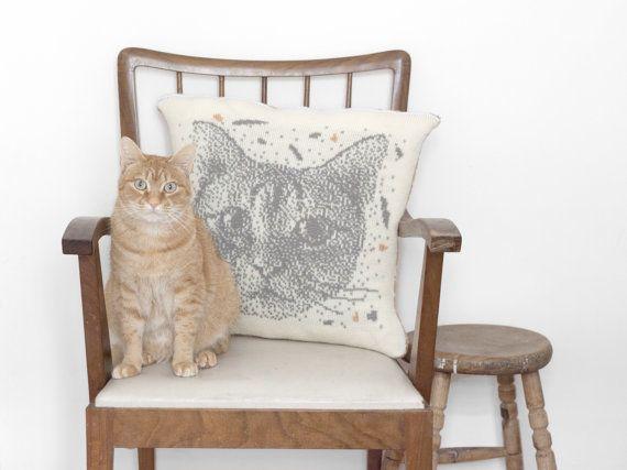 "Custom Portrait&nbsp;Photo Pillow Cover, $156.86 at <a href=""https://www.etsy.com/listing/224982879/custom-portrait-photo-whi"