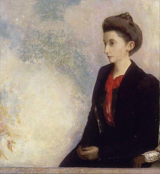 Odilon Redon, Baronne Robert de Domecy, 1900