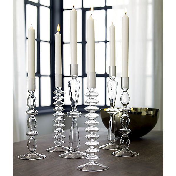 """Numi Candle Holders, $4.95 each at <a href=""""http://www.cb2.com/for-the-decorator/gifts/numi-candle-holders/f7112"""" target=""""_bl"""