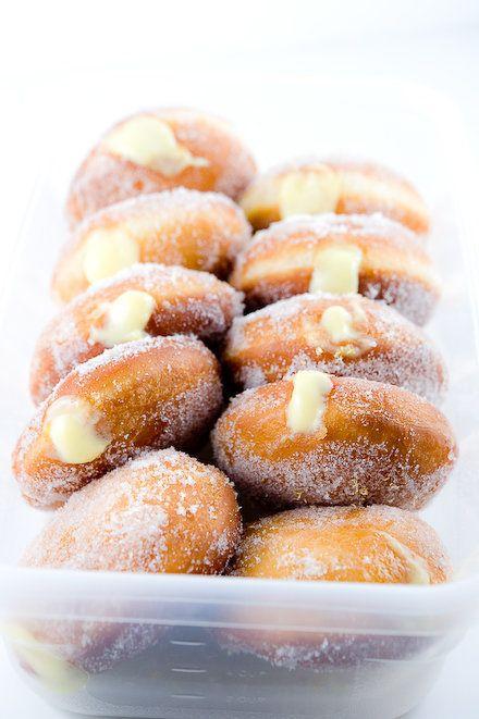 """<strong>Get the <a href=""""http://www.zencancook.com/2011/03/yuzu-curd-doughnuts-2/"""">Yuzu Curd-Filled Donuts recipe </a>from Ze"""