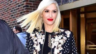 NEW YORK, NY - DECEMBER 03:  Gwen Stefani seen departing a radio interview for 'Elvis Duran And The Z100 Morning Show' on December 3, 2015 in New York City.  (Photo by James Devaney/GC Images)