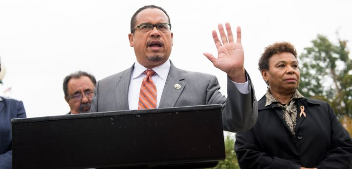 Reps. Raul Grijalva (D-Ariz.), Keith Ellison (D-Minn.) and Barbara Lee (D-Calif.) are co-sponsors of legislation that would t
