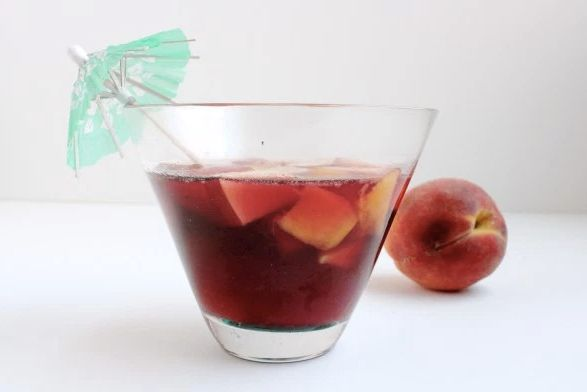 """<strong>Get the <a href=""""http://whatjewwannaeat.com/manischewitz-sangria/"""">Manischewitz Sangria recipe</a>fromWha"""