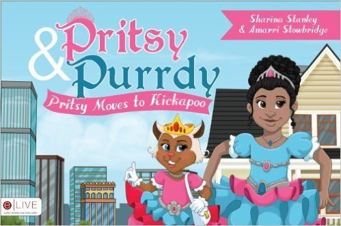 "Pritsy moves to another city and tackles bullying in this empowering story. <br><br>Buy it <a href=""http://www.amazon.co"
