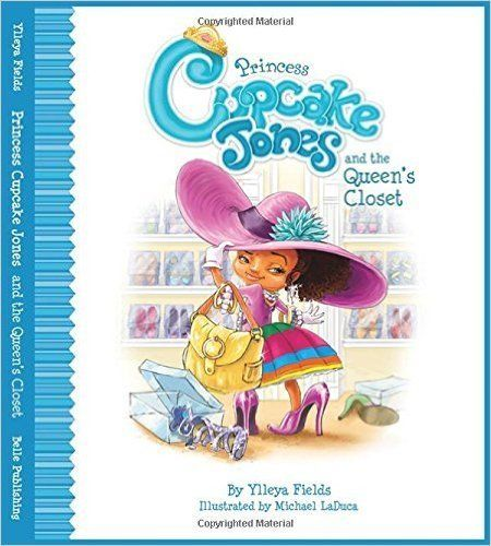 Follow Princess Cupcake Jones as she explores her mom's closet where she discovers a special box. Readers can also search for