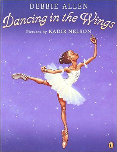 "Legendary director-dancer-actress Debbie Allen tells this tale, which is <a href=""http://www.amazon.com/Dancing-Wings-Debbie-"