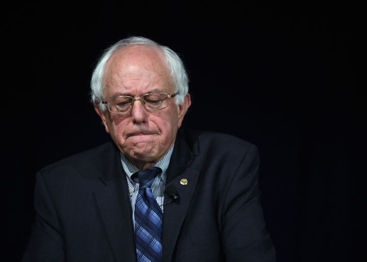 "Sen. Bernie Sanders (I-Vt.) pushed Thursday for""common-sense"" gun control."