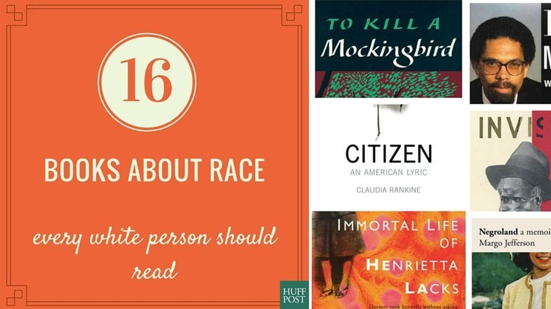 16 Books About Race That Every White Person Should Read | HuffPost