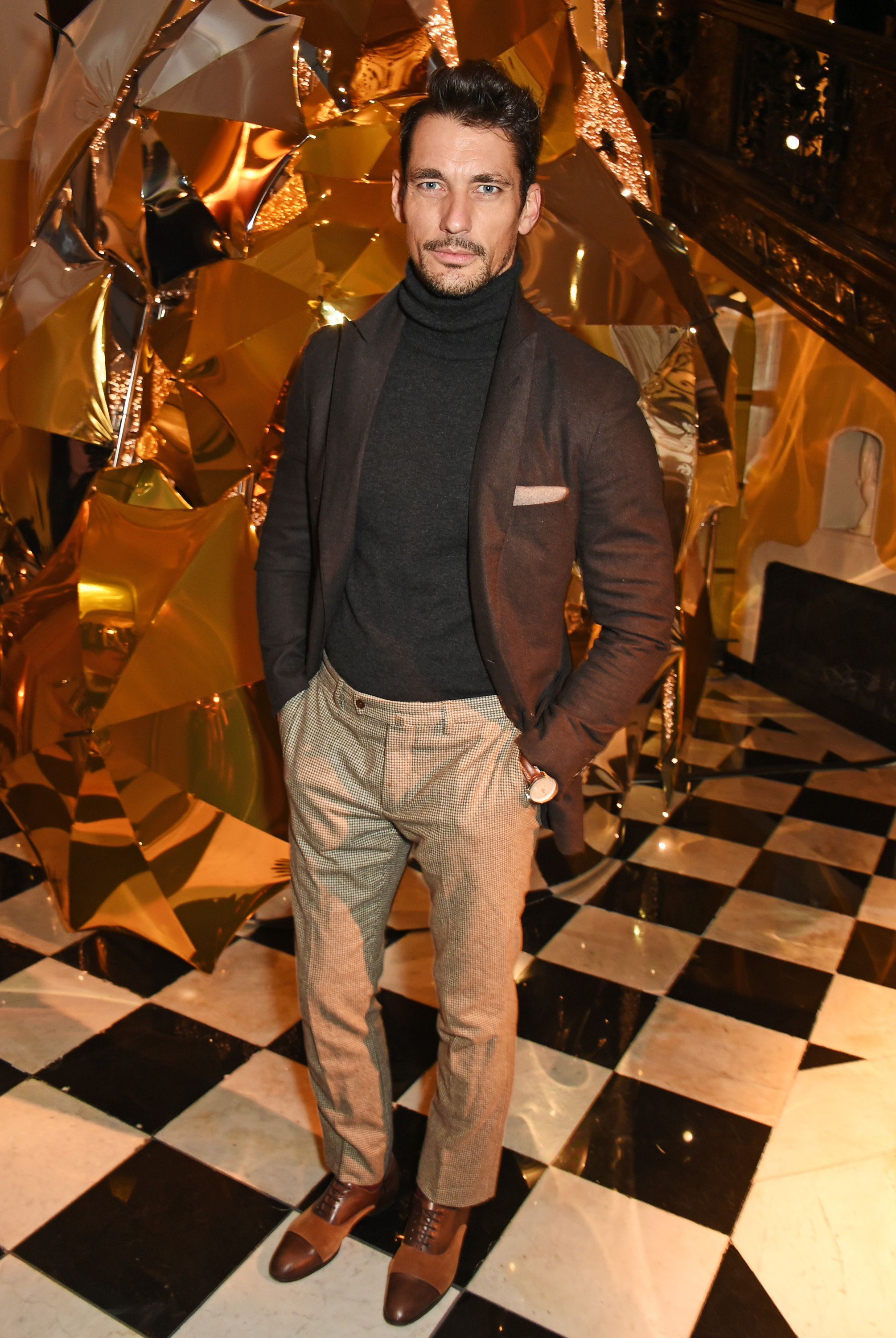 Company Christmas Party Outfit Ideas Part - 47: David Gandy