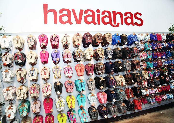 Brazilian Havaianas flip-flops are popular worldwide.