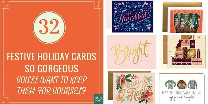 32 holiday cards so gorgeous youll want to keep them for yourself 32 holiday cards so gorgeous youll want to keep them for yourself huffpost solutioingenieria Choice Image