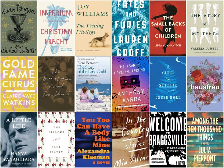 The 18 Best Fiction Books Of 2015 Huffpost