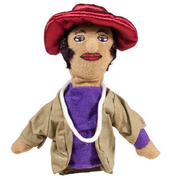 "Get the <a href=""http://www.philosophersguild.com/Zora-Neale-Hurston-Finger-Puppet.html"">Zora Neale Hurston finger puppet</a>"