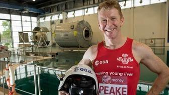 Astronaut Tim Peake will run the London Marathon in space