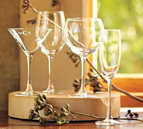 "PB Classic Sparkling Flute Set of 6, $36 to $45 at <a href=""http://www.potterybarn.com/products/5513692/?catalogId=97&sku"