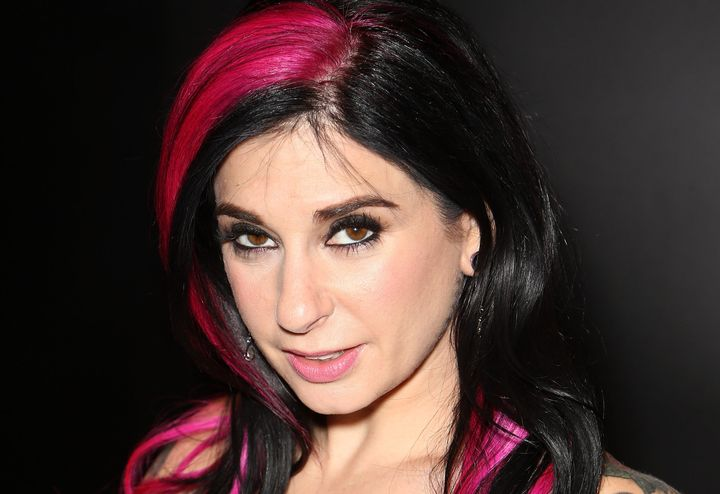 Joanna Angel at the AVN Adult Entertainment Expon in 2015.