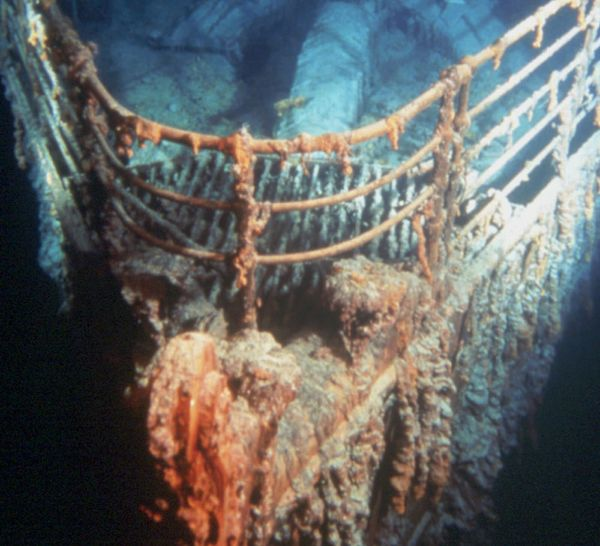 """<a href=""""http://thebluefish.com/visit-the-titanic/"""">A scientific expedition tour of the Titanic shipwreck</a>, including a MI"""