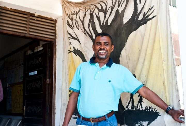 Showsee Mohamed started workingat The Omari Project in 2000 after one of his closest friends becameaddicted to he