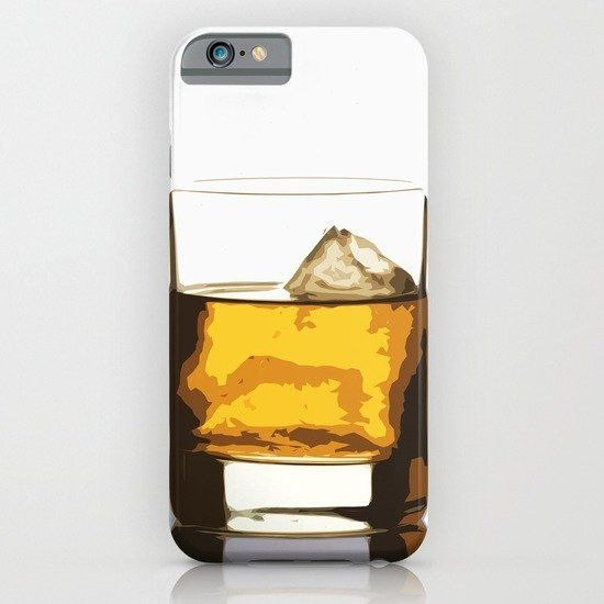 "iPhone case, <a href=""https://society6.com/product/old-scotch-whiskey_iphone-case#52=377"">Society6</a>, $35"