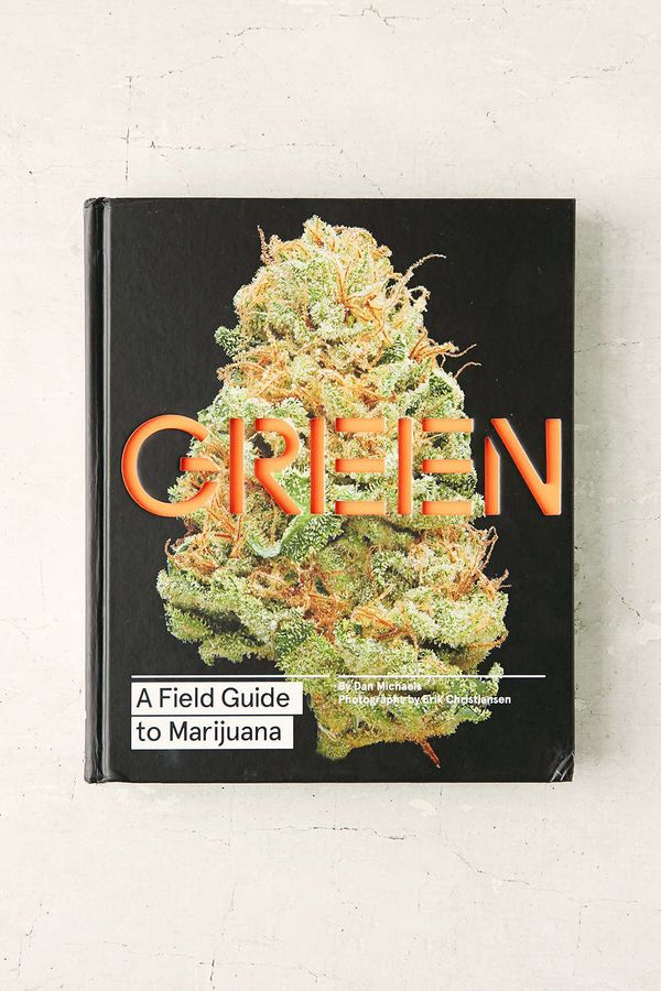 "<i>Green: A Field Guide To Marijuana</i> by Dan Michaels, $35 at <a href=""http://www.urbanoutfitters.com/urban/catalog/produc"