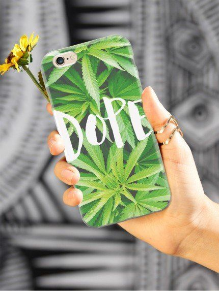 "Dope Marijuana iPhone Case, $15 at <a href=""http://www.inspiredcases.com/dope-marijuana-case-for-iphone-6.html?utm_source=goo"