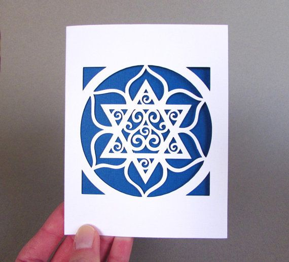 "<a href=""https://www.etsy.com/listing/255449421/hanukkah-card-jewish-star-flower-paper?ga_order=most_relevant&amp;ga_search_t"