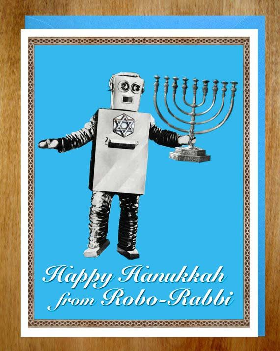"<a href=""https://www.etsy.com/listing/163801119/robot-hanukkah-cards-holiday-card-sci-fi?ga_order=most_relevant&amp;ga_search"