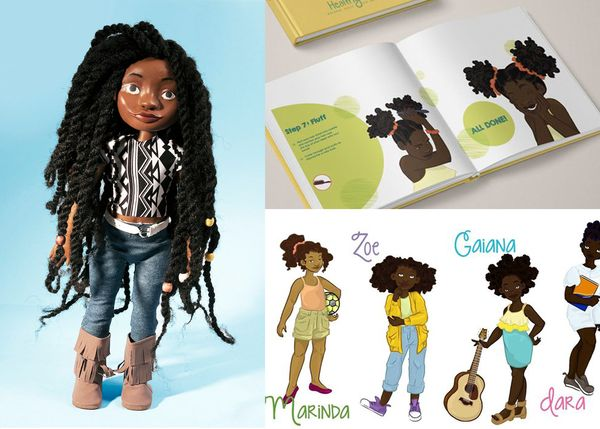 "Natural hair dolls are a must-have for any magical black girl. <a href=""https://www.kickstarter.com/projects/996500271/h"