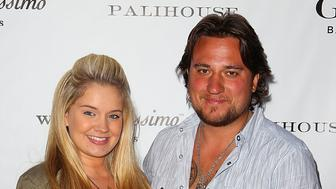 WEST HOLLYWOOD, CA - JUNE 19:  Tiffany Thornton and husband Chris Carney arrive at Gilt Baby and Kids celebrates Wendy Bellissimo collection launch at Palihouse Holloway on June 19, 2012 in West Hollywood, California.  (Photo by Joe Scarnici/WireImage)