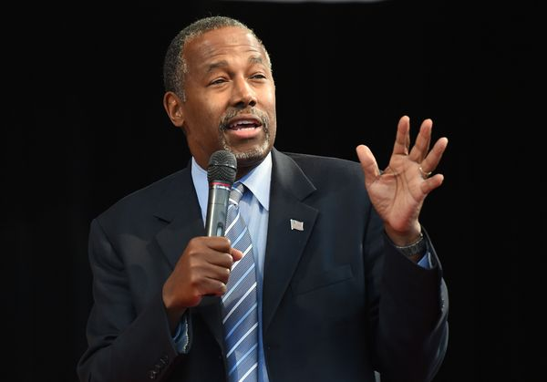 Abortion and slavery are basically the same thing -- at least according to Republican presidential candidate Ben Carson, <a h