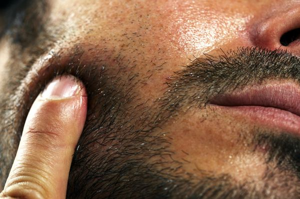 Before they get infected. A seriously ingrown hair can cause skin damage, Salgardo writes.
